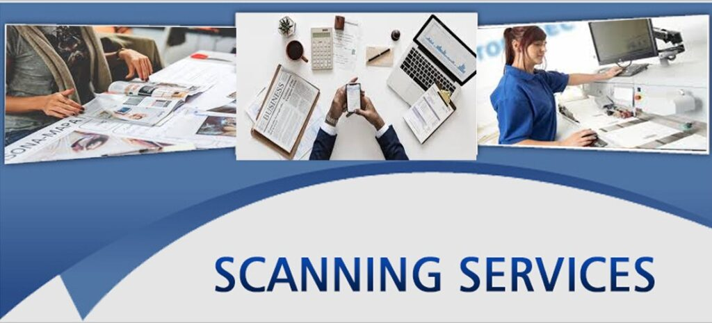 High speed document scanning service